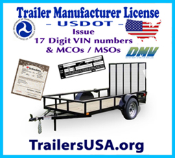 Issue trailer VINs