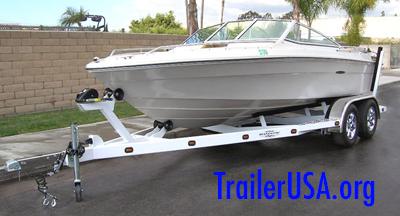 boat watercraft trailer