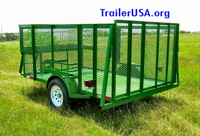 landscapers trailer