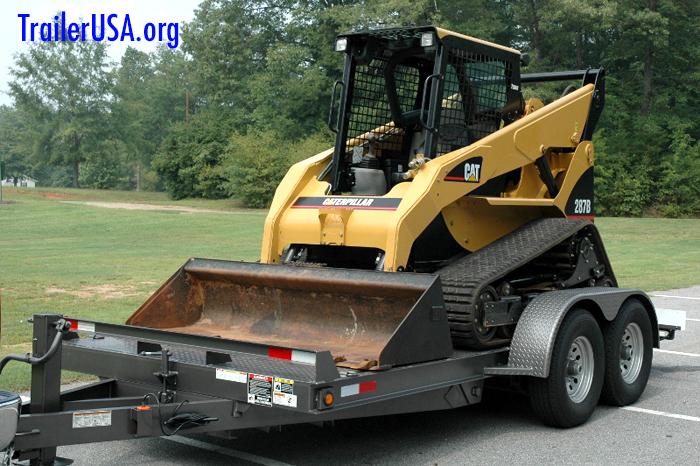 equipment hauler trailer